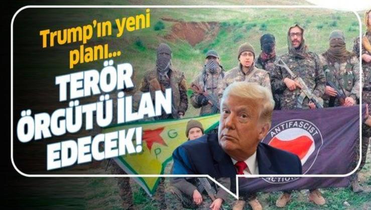 """ABD Başkanı Trump, Antifa ve Ku Klux Klan'ın """"terör örgütü"""" tanınmasını öngören planını açıkladı!"""