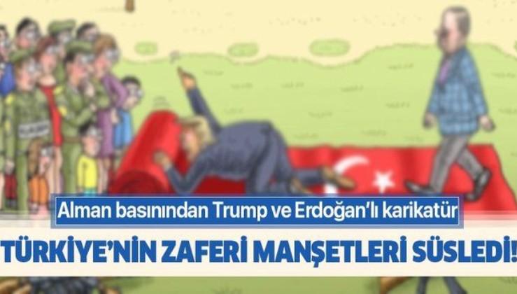 Alman basını Türkiye'nin zaferini böyle gördü!.
