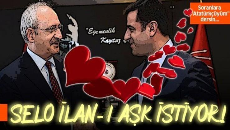 Demirtaş'tan Kılıçdaroğlu'na İlan-ı aşk çağrısı!