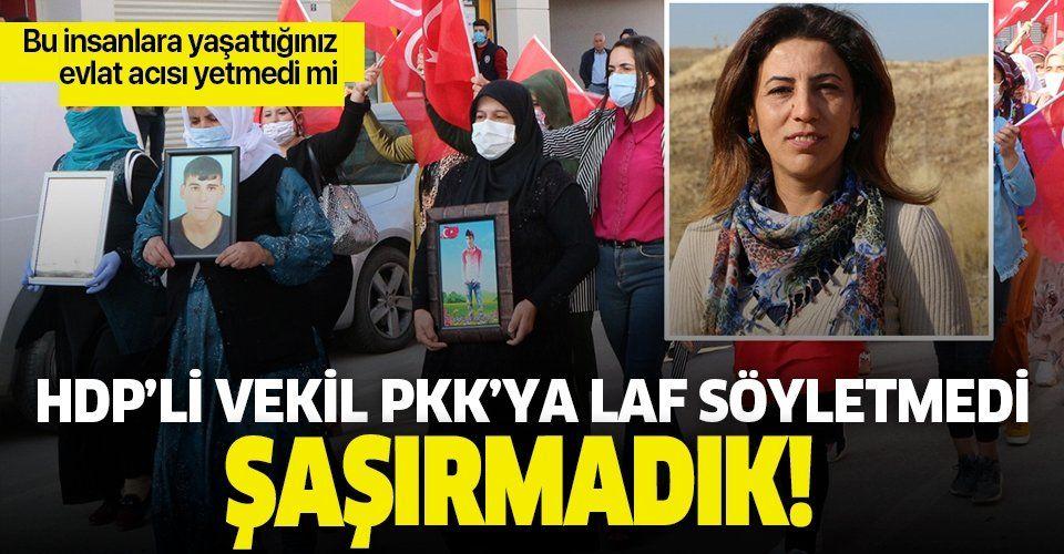 HDP'li vekil teröre tepki eylemini engellemek istedi! Sloganlara karşı çıktı
