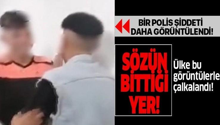 Polis şiddeti!