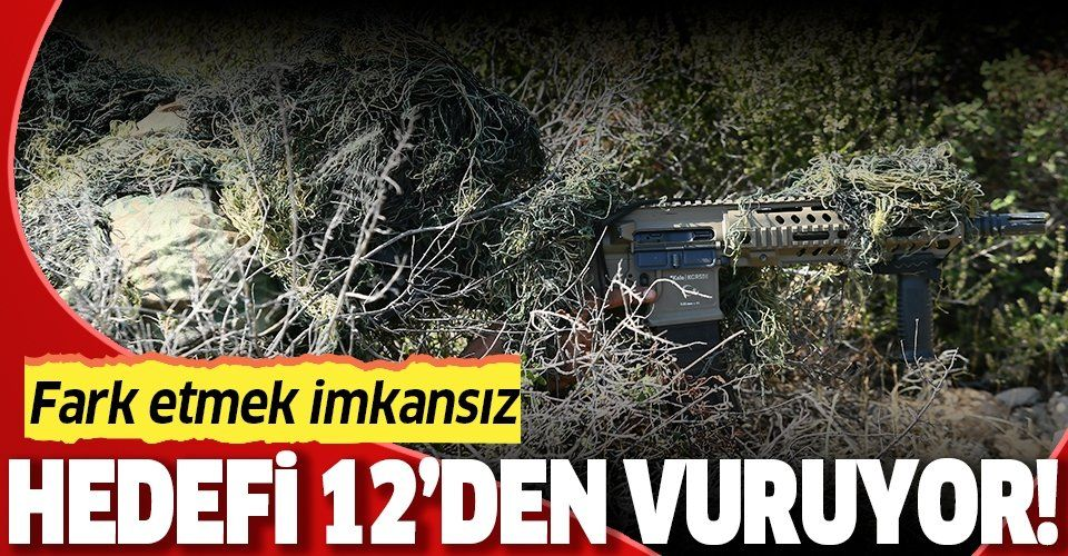 """İşte teröristlerin korkulu rüyası """"Bora-12""""! Hedefi 12'den vuruyor"""
