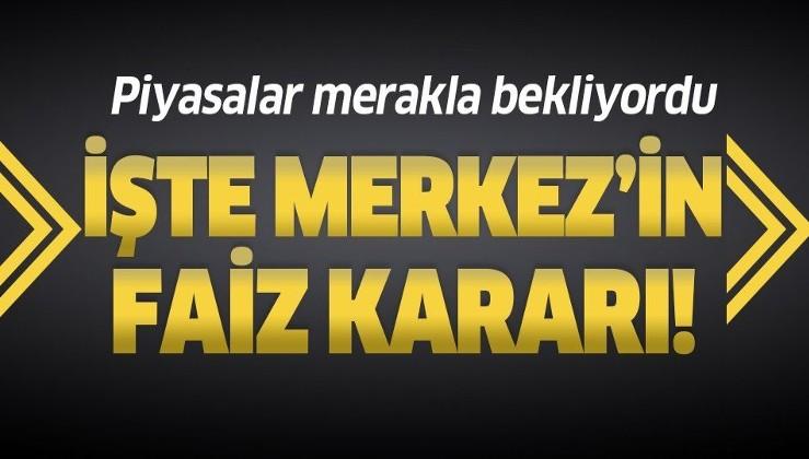 Son dakika: Merkez Bankası 24 Eylül faiz kararını açıkladı! Faizler yükseldi mi?