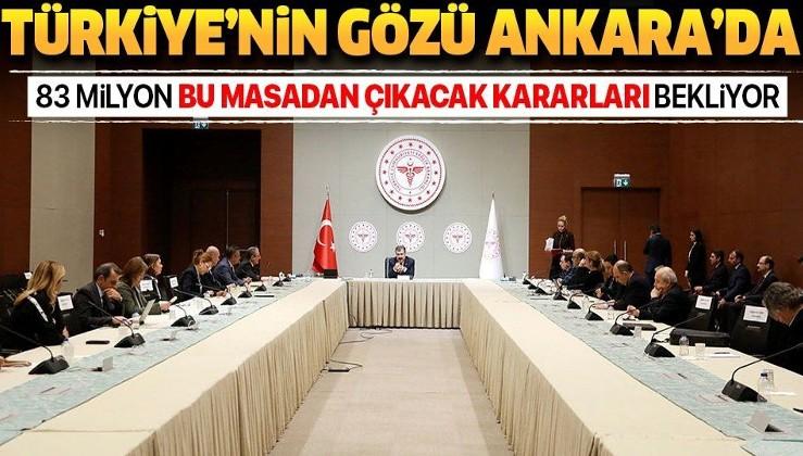 Türkiye'nin gözü bu toplantıda! Bilim Kurulu bir araya geliyor.