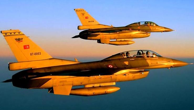 Irak'ın kuzeyinde silahlı 6 terörist öldürüldü!