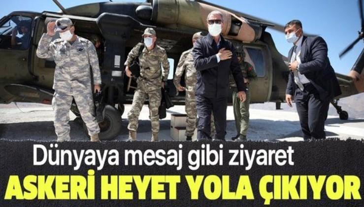 Son dakika: Milli Savunma Bakanı Akar başkanlığındaki Türk askeri heyeti Azerbaycan'a gidiyor