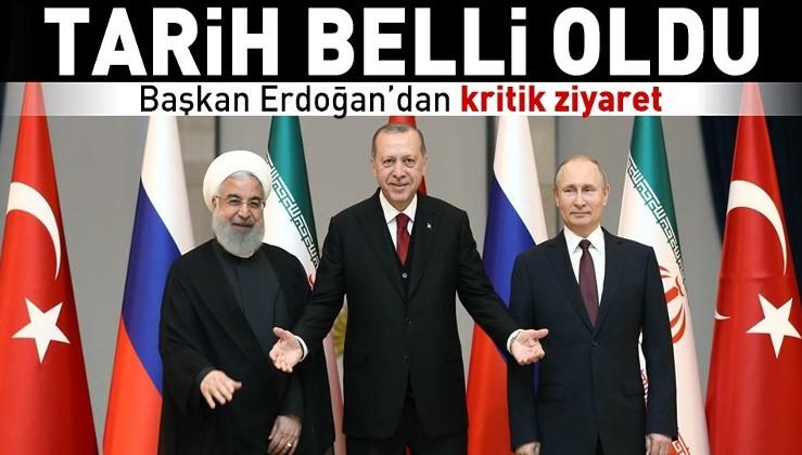 Son dakika: Erdoğan 7 Eylül'de İran'a gidecek.