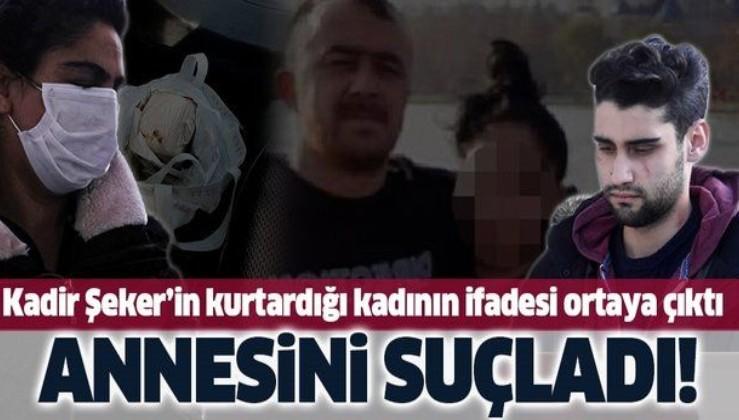 SON DAKİKA: Kadir Şeker'in kurtardığı Ayşe Dırla'nın ifadesi ortaya çıktı: O gün akşam eve paketle geldi