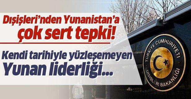 """Dışişleri Bakanlığı'ndan 19 Mayıs'a saldıran Yunanistan'a tepki: """"19 MAYIS BÜTÜN MAZLUM MİLLETLER İÇİN KUTLU BİR GÜNDÜR"""""""