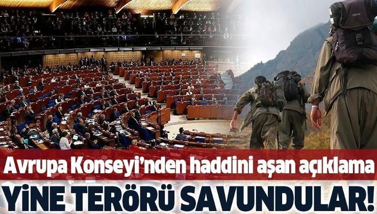Son dakika: Avrupa Konseyi'nden skandal 'Türkiye' açıklaması!