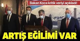 Son dakika: Bakan Fahrettin Koca: İstanbul ve Bursa başta olmak üzere artış eğilimi var