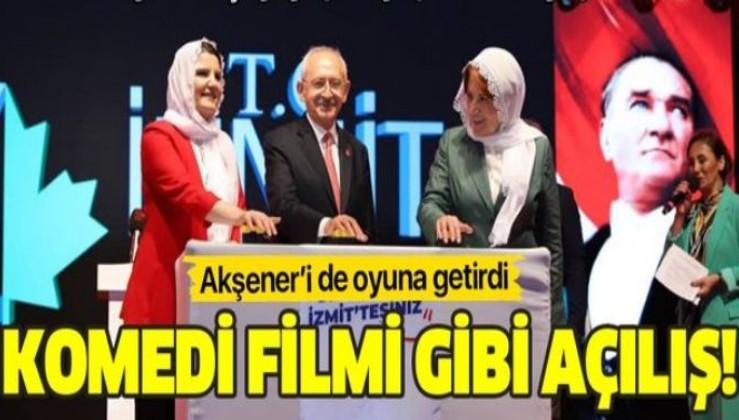 CHP'li Fatma Hürriyet Kaplan'dan komedi filmlerini aratmayacak açılış! Kılıçdaroğlu ve Akşener'i de oyuna getirdi!