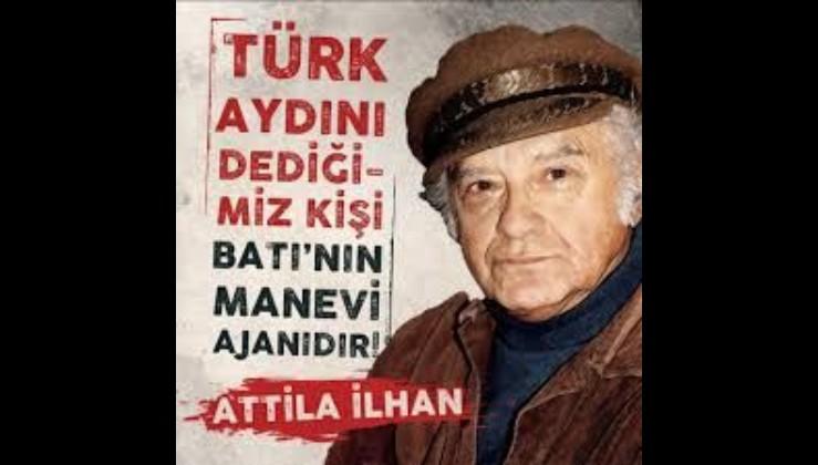 Türk'ten adam olmaz diyen, Batıya tapan günümüz mandacılarına...