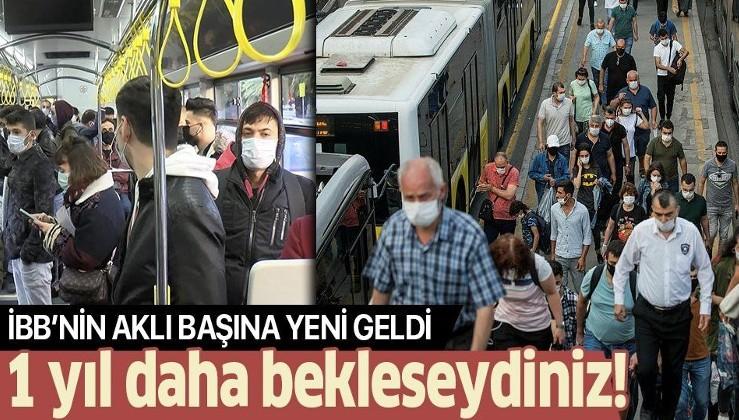 Sefer sayıları eleştiri konusuydu... Koronavirüsün merkezi haline gelen İstanbul'da toplu taşımada yeni dönem!