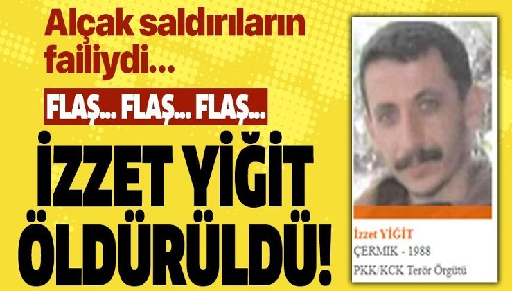 Son dakika: Bakan Soylu açıkladı: Turuncu kategoride aranan terörist İzzet Yiğit etkisiz hale getirildi