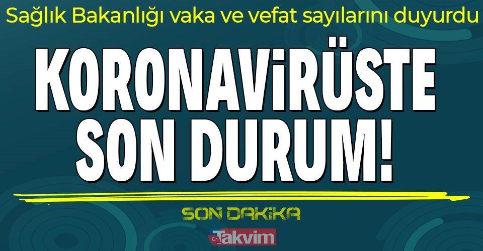 13 Ekim koronavirüs verileri açıklandı! İşte Kovid-19 hasta, vaka ve vefat sayılarında son durum