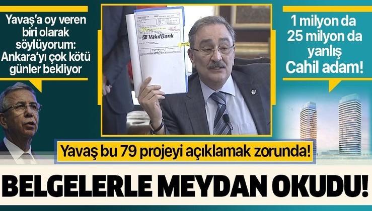 Aygün: Bütün Ankara'daki müteahhitler şu anda zan altında