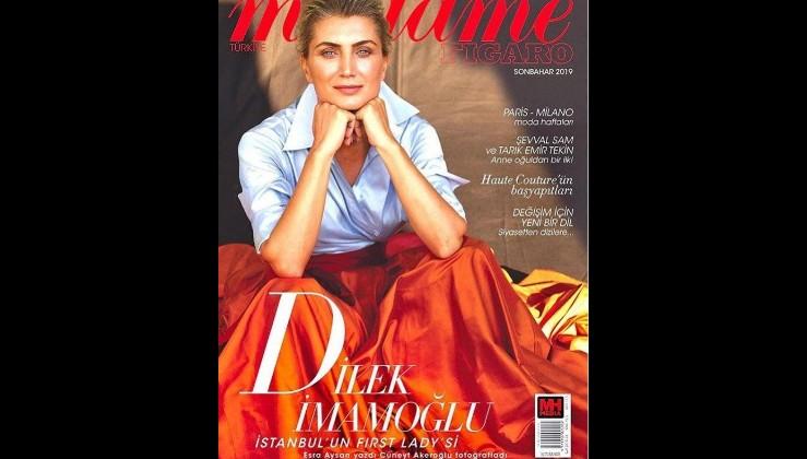 Dilek İmamoğlu, Fransız kadın dergisine kapak oldu