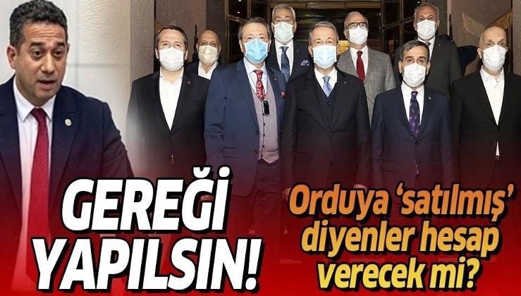 """Genelkurmay Başkanı Güler'den CHP'li vekilin """"Silahlı Kuvvetler için 'satılmıştır' sözlerine sert tepki"""