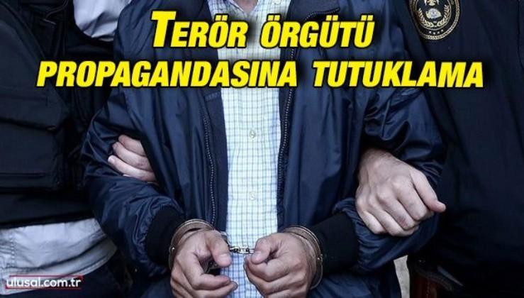 Mersin'de terör örgütü propagandasına tutuklama