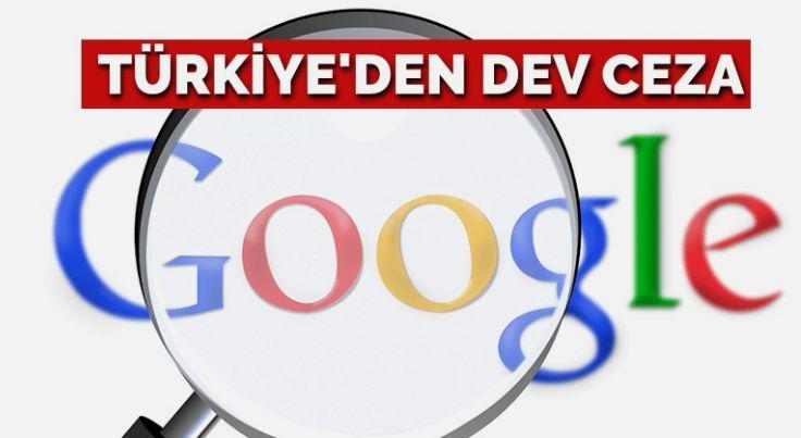 Rekabet Kurulu'ndan Google'a milyonluk ceza!