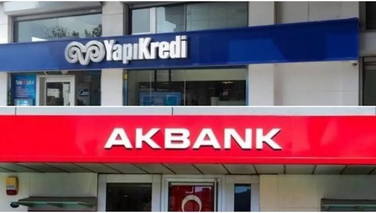 Yapı Kredi'ye 187 Milyon, Akbank'a 94 Milyon Lira Ceza