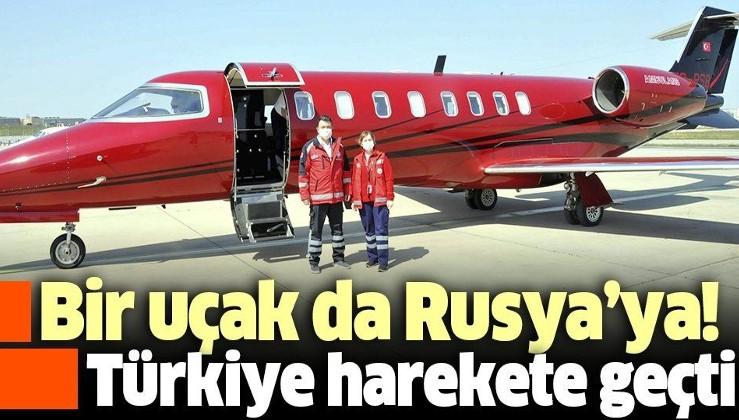 Son dakika: Sağlık Bakanlığı Rusya'daki Türk vatandaşı Haluk Hasan Seyithanoğlu için ambulans uçak gönderdi