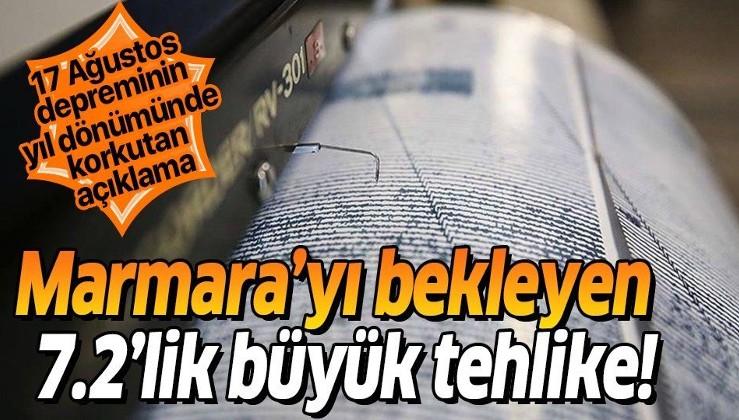 17 Ağustos depreminin yıl dönümünde korkutan açıklama! Marmara'da 7.2'lik büyük tehlike