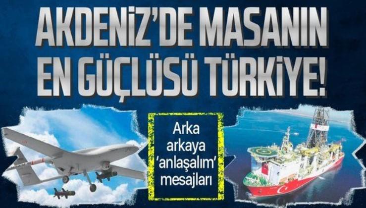 Akdeniz'de masanın en güçlü oyuncusu Türkiye! Fransa, İtalya, Mısır, İsrail ve Almanya'dan 'anlaşalım' mesajı