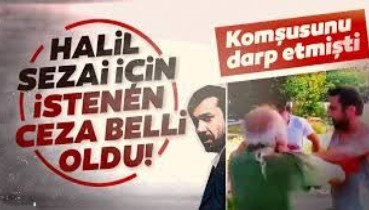 Son dakika haberi: Halil Sezai hakkındaki iddianame kabul edildi!