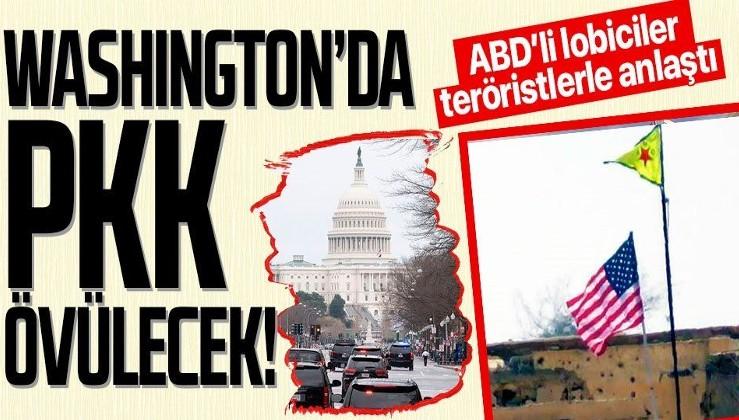 Terör örgütü YPG/PKK ABD'nin başkenti Washington'da lobi firmasıyla anlaştı!
