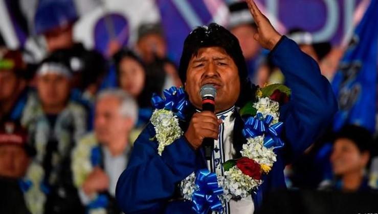 Bolivya'da ABD'nin belalısı Morales yeniden başkan