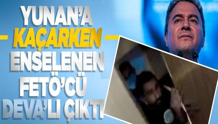DEVA Parti yönetim kurulu üyesi FETÖ sanığı Yunanistan'a kaçarken yakalandı