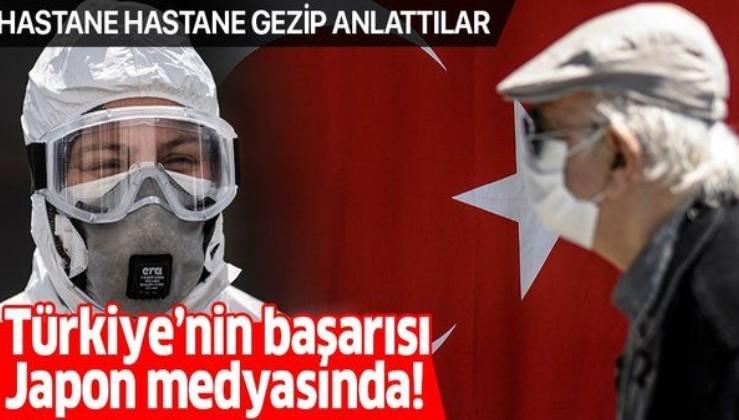 Japon medyasının gündeminde Türkiye'nin koronavirüsle mücadeledeki başarısı var!