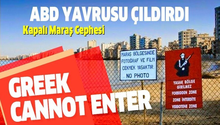 Son dakika: Yunanistan, Türkiye'nin Kapalı Maraş hamlesine çıldırdı