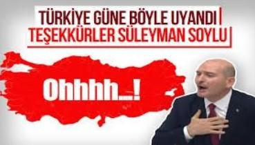 Soylu'dan HDP sıralarına: Beş yıldızlı otel yapıyoruz Hakkari'ye. Paralar PKK'ya gitmiyor, millete gidiyor.