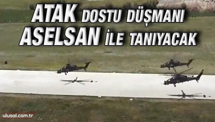 ASELSAN'ın ürünü cevaplayıcı cihaz, Atak helikopterine entegre edildi