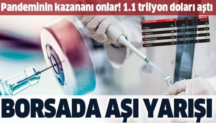 Borsada 10 milyar dolarlık yarış: Kovid-19 pandemisinde kazanan ilaç firmaları oldu!