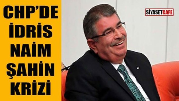 CHP'de eski AKP'li İdris Naim Şahin krizi İYİ Parti'den başkan adayı olacak mı?