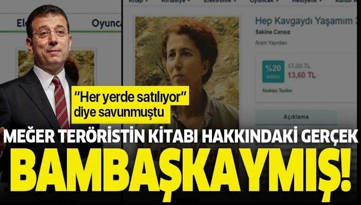 İmamoğlu'nun satışını savunduğu PKK'lı Sakine Cansız'ın kitabı 2016'da yasaklanmış.