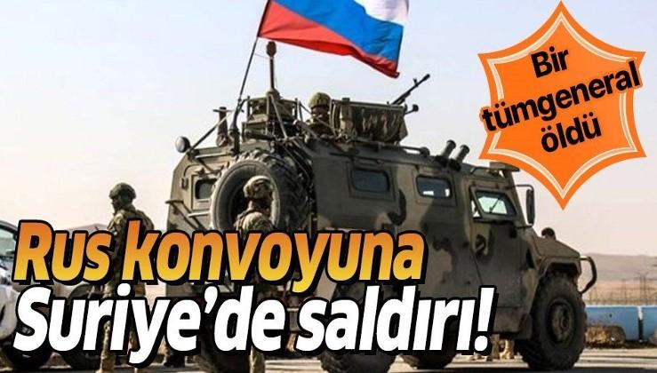 Suriye'de Rus tümgeneral patlamada öldü