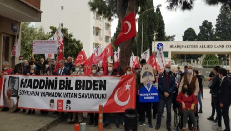 Türkiye Gençlik Birliği, NATO Karargahı önünden meydan okudu!