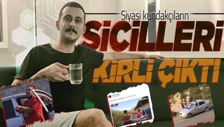 Antalya'da yangın üzerinden provokasyon yapan iki kişinin suç dosyası kabarık çıktı