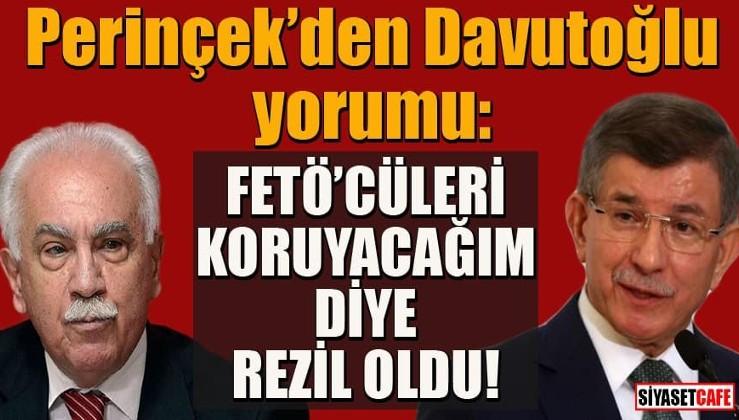 """""""Emniyet Kuran'ı suç delili saydı"""" diyen Davutoğlu'na Perinçek'ten sert tepki!"""