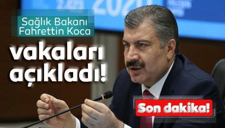 SON DAKİKA HABER: Bakan Fahrettin Koca 2 Eylül koronavirüs vaka ve vefat sayılarını açıkladı! İşte Türkiye'de corona virüs son durum verileri