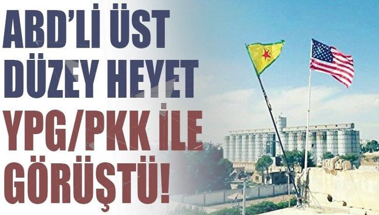 ABD'li üst düzey heyet YPG/PKK ile görüştü