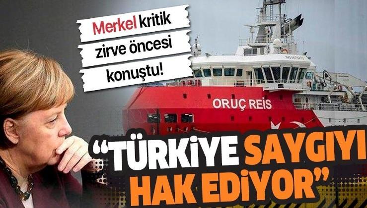 Almanya Başbakanı Angela Merkel: Türkiye saygıyı hak ediyor