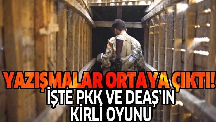 Son dakika: PYD/PKK'nın hapisteki DEAŞ'lıları serbest bırakması teröristlerin yazışmasına yansıdı.