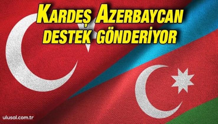 Azerbaycan yangınlar için Türkiye'ye destek gönderecek