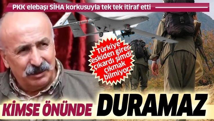 SİHA korkusundan yeraltında konuşan PKK elebaşı Karasu: Türkiye şimdi çıkmak bilmiyor